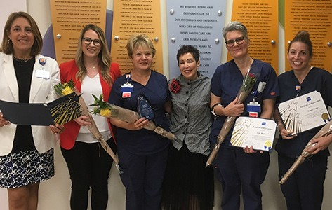 Overlook ostomy staff receives gift of gratitude