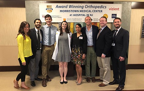 Morristown presents at Hottest Topics in Orthopedics