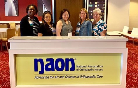 Morristown's nurse navigation team at the NAON