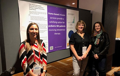 Goryeb team presents research at NASPGHAN