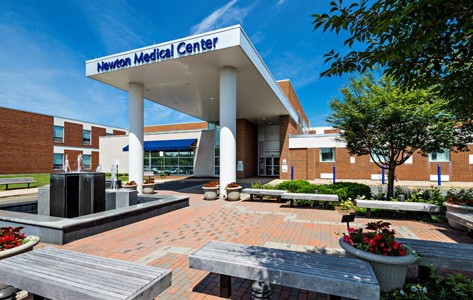 Newton Medical Center entrance