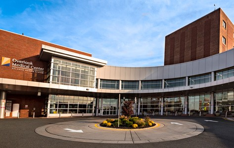 Overlook Medical Center entrance
