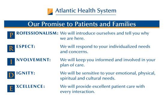 Our Pride Promise Atlantic Health
