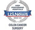 US News High Performing Colon Cancer Surgery