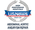 US News High Performing Abdominal Aortic Aneurysm Repair