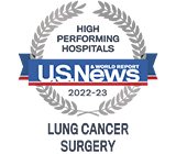U.S. News & World Report high performing lung cancer surgery