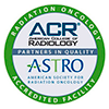 ACR ASTRO accreditation