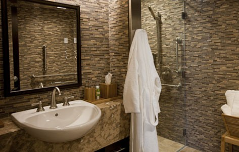 Concierge medicine bathroom