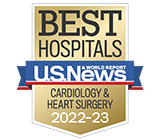 Morristown Medical Center ranked one of the best hospitals in the nation for Cardiology & Heart Surgery by US News