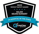 CareChex Top 100 Hospital Major Neurosurgery Medical Excellence