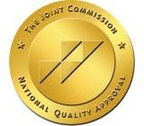 The Joint Commission seal of approval for knee and hip replacement surgery