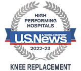 US News High Performing Knee Replacement