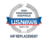 US News High Performing Hip Replacement