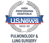 US News High Performing Pulmonology