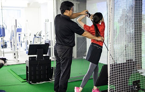 Golf fitness instruction