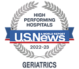 Morristown Medical Center U.S.News High Performing Hospital Geriatrics