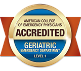 Accredited Geriatric Emergency Department