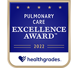 Healthgrades Pulmonary Care Excellence Award