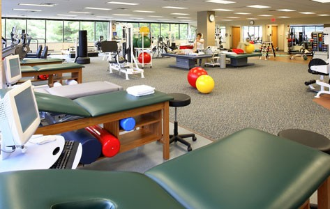 Sports health physical therapy gym