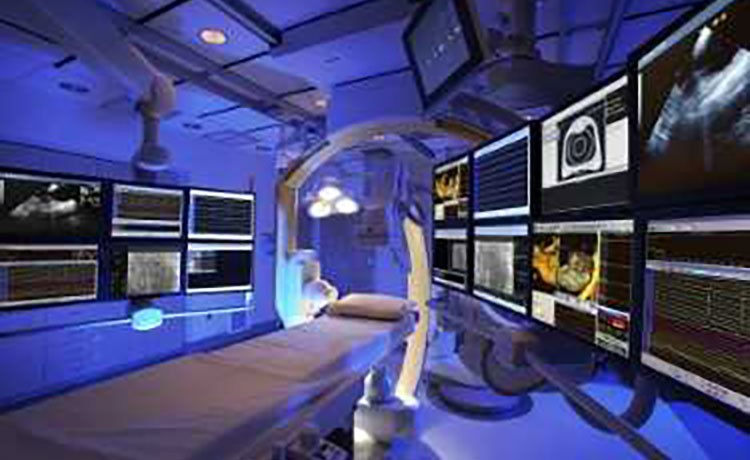 Cardiac imaging equipment.