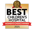 Women's Choice Award for Children's Hospital for 2020