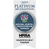 HRSA Platinum Recognition