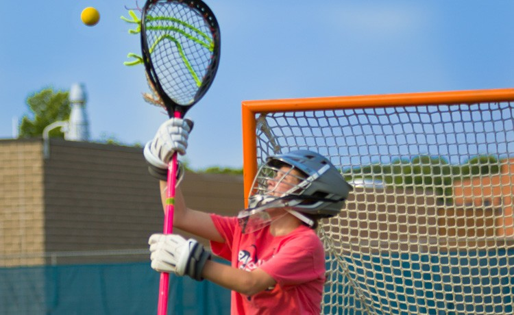 Cystic fibrosis patient plays lacrosse