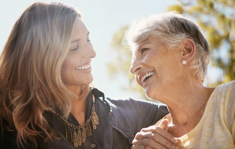 Mother and daughter discuss advance directive