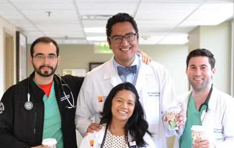hospitalists at Morristown Medical Center